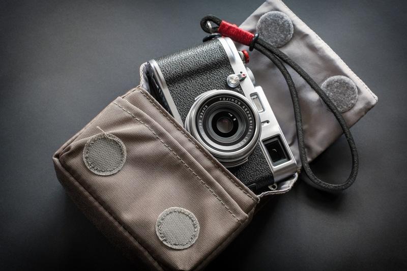 Fujifilm X100s & Gordy's wrist strap & Manfrotto Nano VI