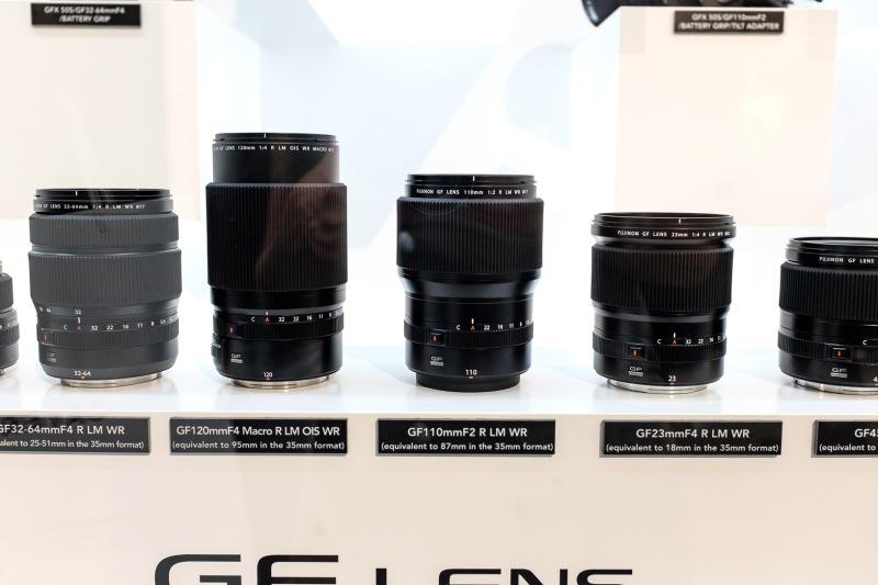 Objektive für die Fujifilm GFX 50S